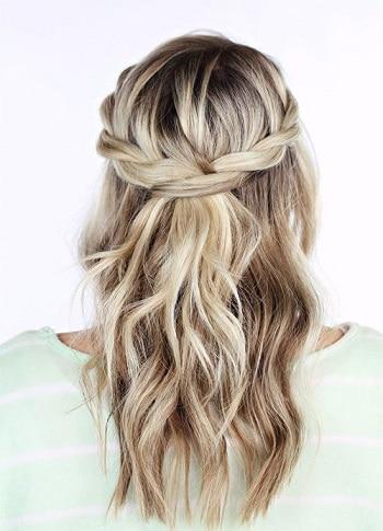 coiffure style bohème