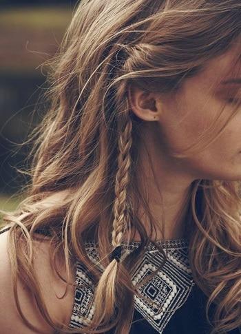 bohème style coiffure