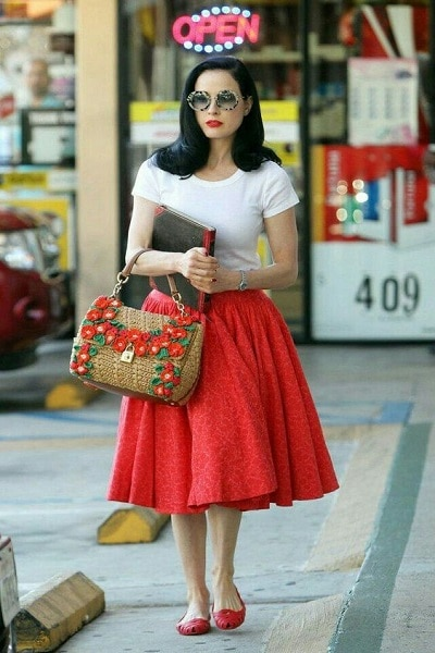 La robe Pin Up : les différents styles
