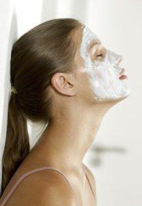 masque visage crème