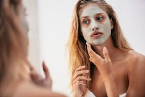peau terne