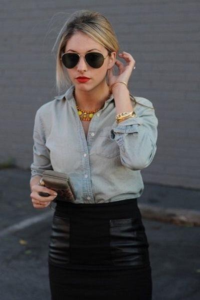 jupe noire 2