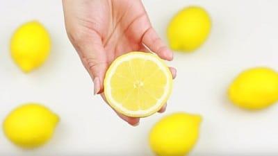 citron ongles striés