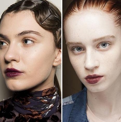 rouge a levre bordeaux tendance maquillage 2019