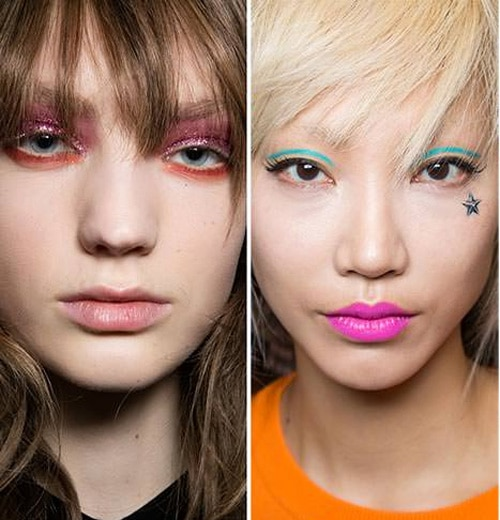 tendance-maquillage-2018-2019-couleur-pop-jeremy-scott