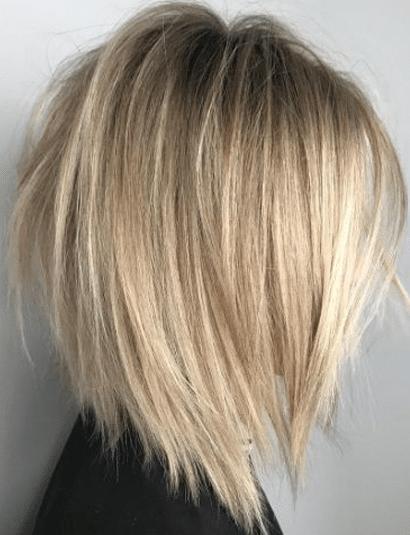 Coupe Cheveux Carre Plongeant Degrade Mi Long | Coiffures Cheveux Longs