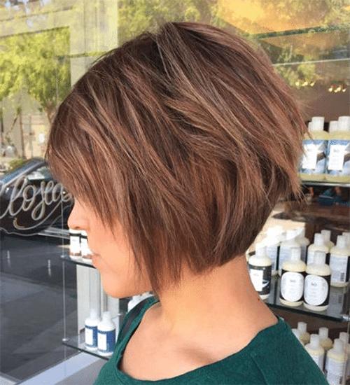 Effile Carre Plongeant Degrade 2019 | Coiffures Cheveux Longs