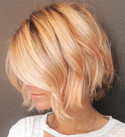 Carre Plongeant Coupe Cheveux Long Degrade | Coiffures Cheveux Longs