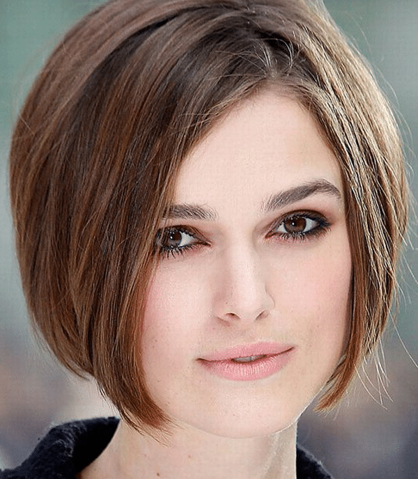 coupe au carré Keira Knightley