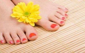 bain de pieds