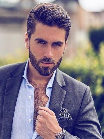 Coupes de cheveux classiques pour les hommes avec des images