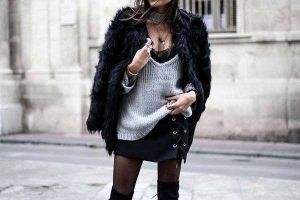 idée-look-manteau-fourrure-noire