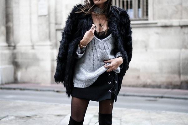 5 looks tendances pour porter le manteau en fausse fourrure