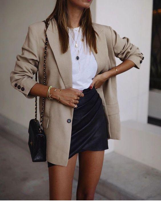 jupe-cuir-blazer