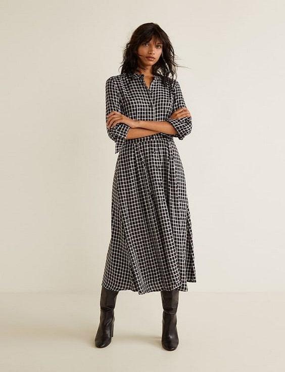 robe-chemise-carreaux