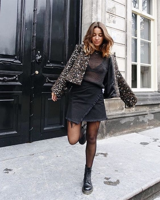 jupe-noire-look