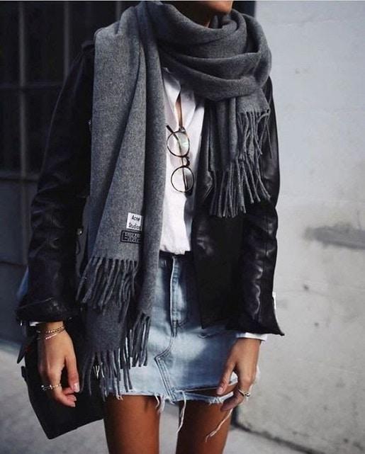 Jupe-jean-style