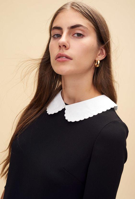 robe-noire-col-claudine