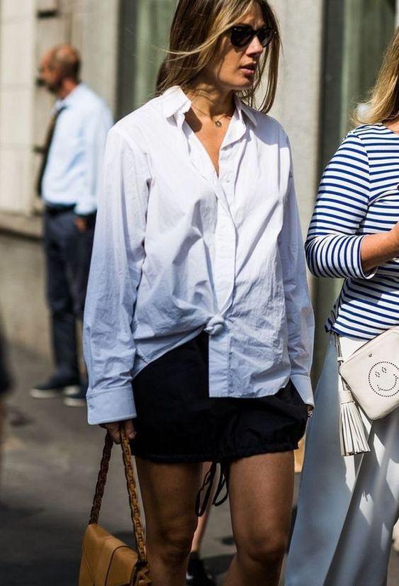 chemise-blanche-nouée