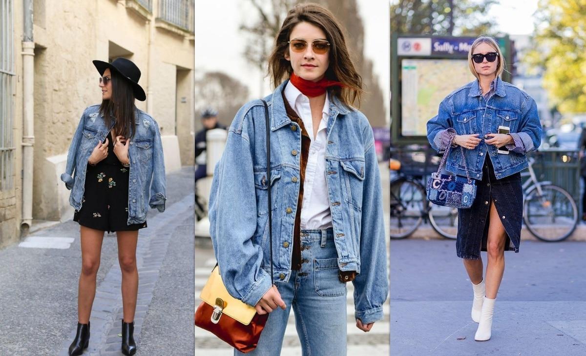13 conseils de style pour porter la veste en jean oversize