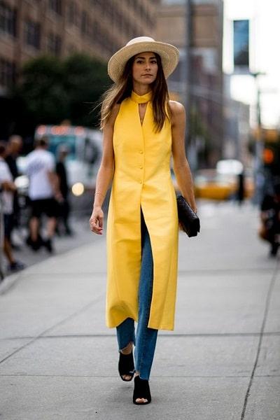 streetstyle-robe-jaune