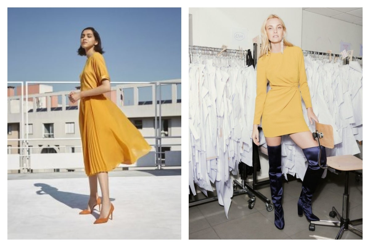 Comment-porter-une-robe-jaune