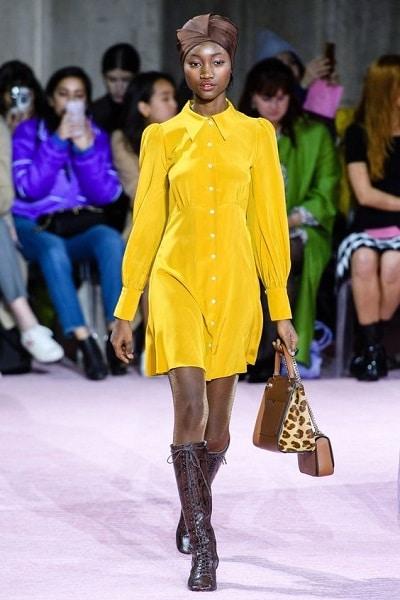 robe-jaune-hiver