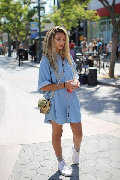 robe-en-jean-oversize