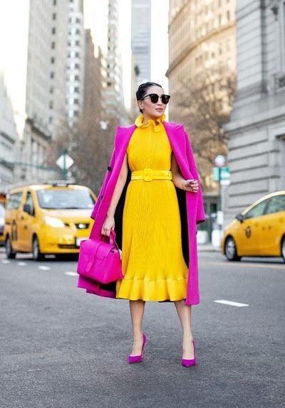 robe-jaune-femme