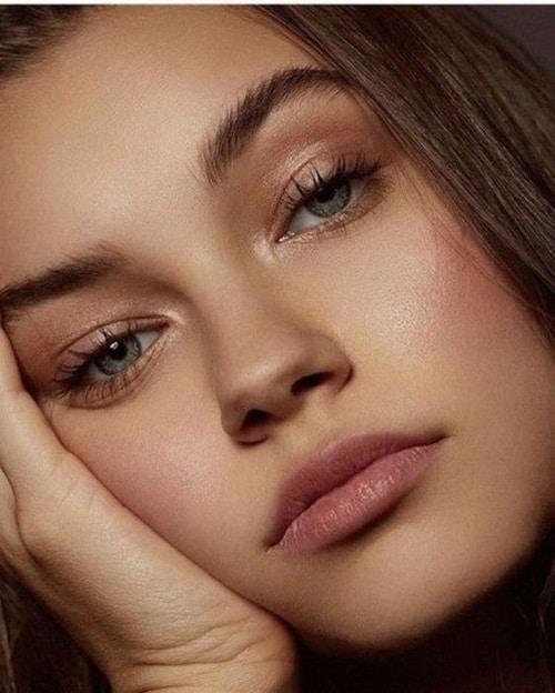 maquillage-nude-brune