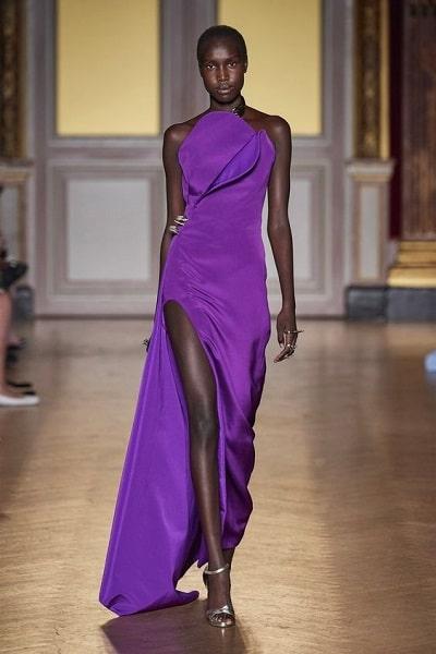 robe-violette-soirée