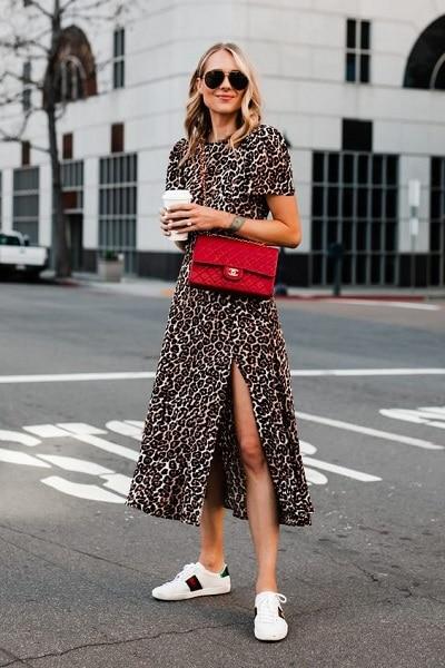robe-léopard-baskets