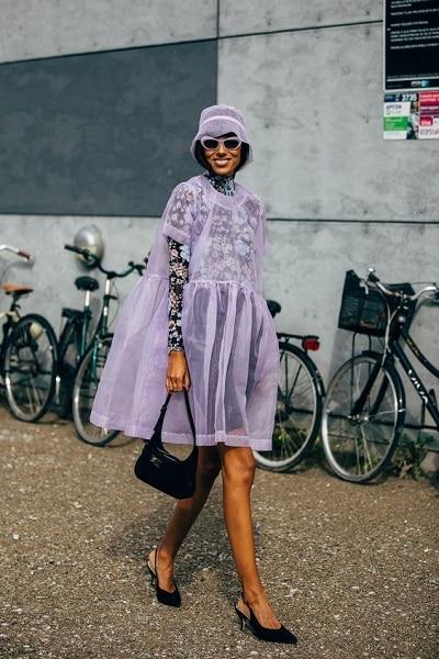 robe-rétro-violette