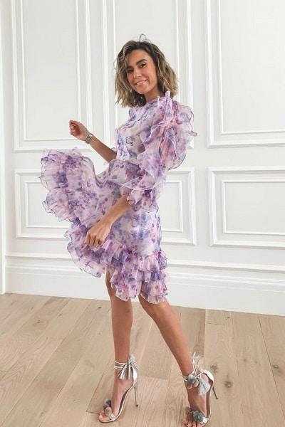 robe-de-soirée-violette