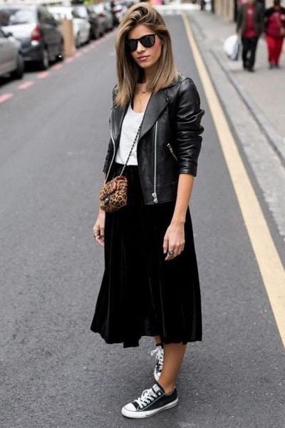 jupe-noire-longue