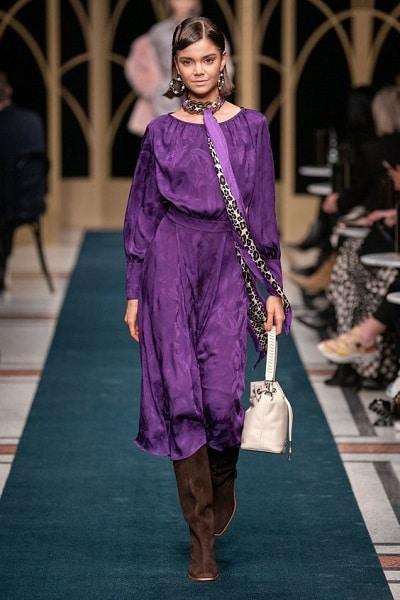 robe-violette-hiver