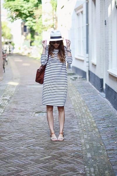 robe-marinière-longue