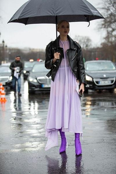 robe-longue-violette