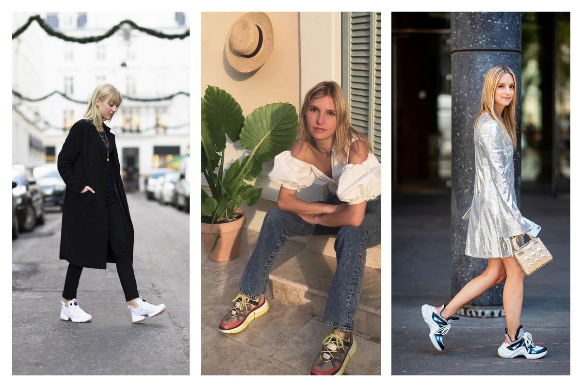 tendance sneakers femme 2020