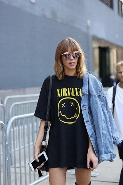 robe-t-shirt-grunge