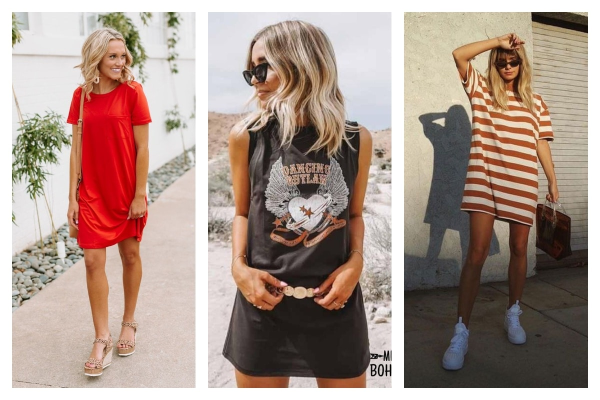Comment-porter-la-robe-tee-shirt