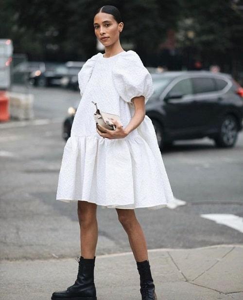 robe-babydoll-blanche