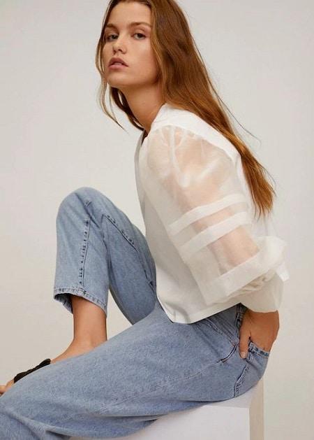 blouse-manches-bouffantes
