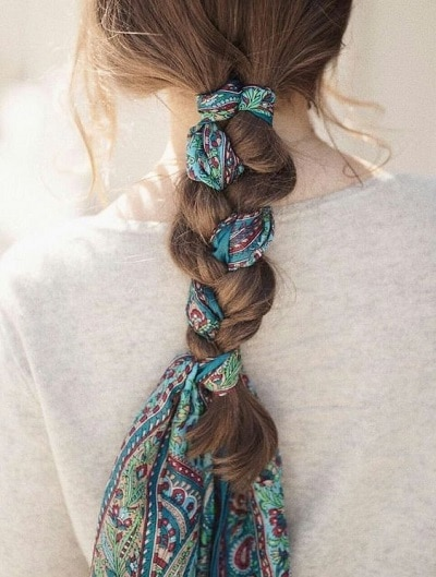 foulard-tressé-cheveux