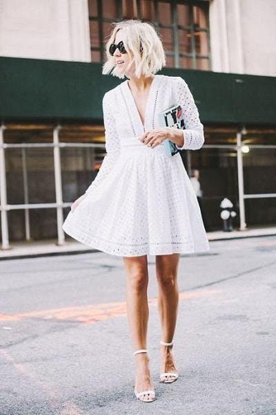robe-blanche-trapèze