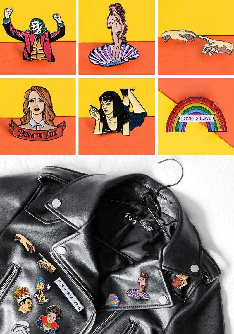 boutique de Pin's Mode tendance et pas cher