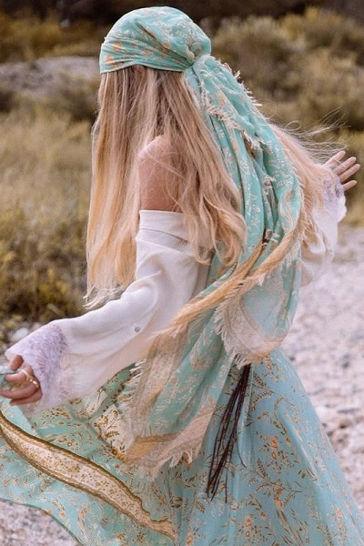 foulard-bohème