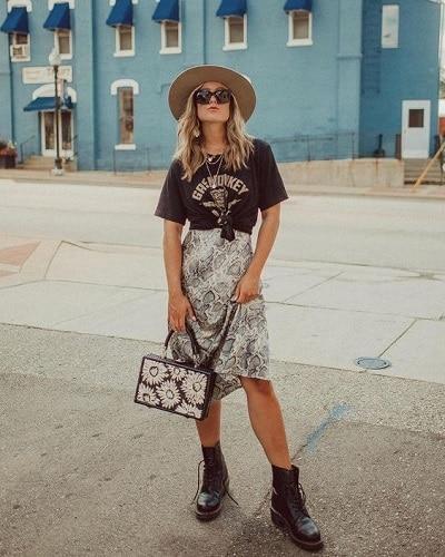 t-shirt-rock-femme