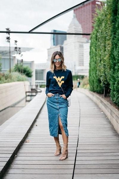 jupe-jean-longue