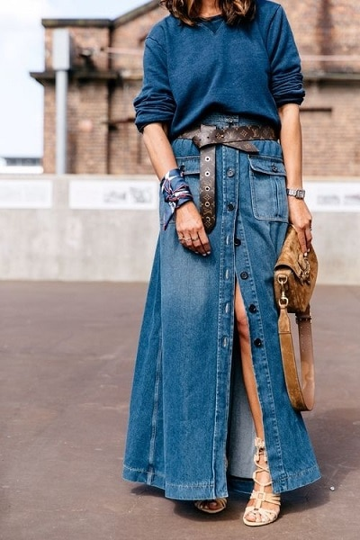 jupe-longue-jean